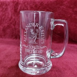 Other - ALEXANDER KEITH'S 208th Birthday Beer Mug -6 avail